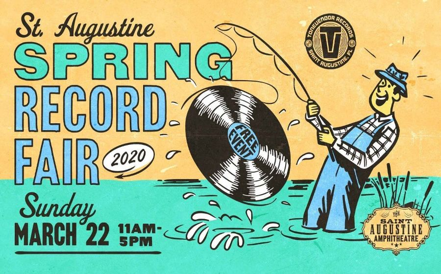 More Info for St. Augustine Spring Record Fair