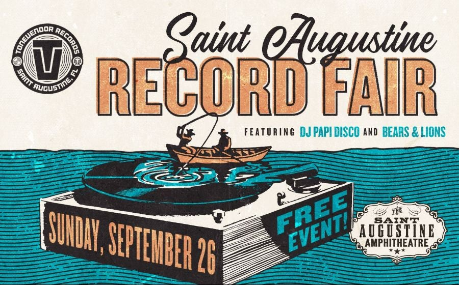 More Info for Sing Out Loud: St. Augustine Record Fair ft Bears & Lions