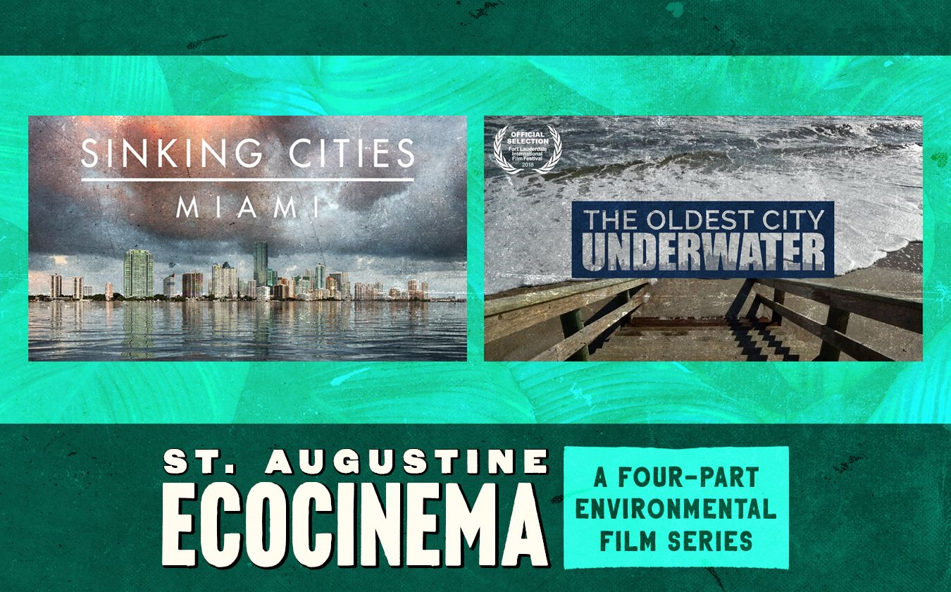 """EcoCinema: """"Sinking Cities: Miami"""" and """"The Oldest City Underwater"""""""