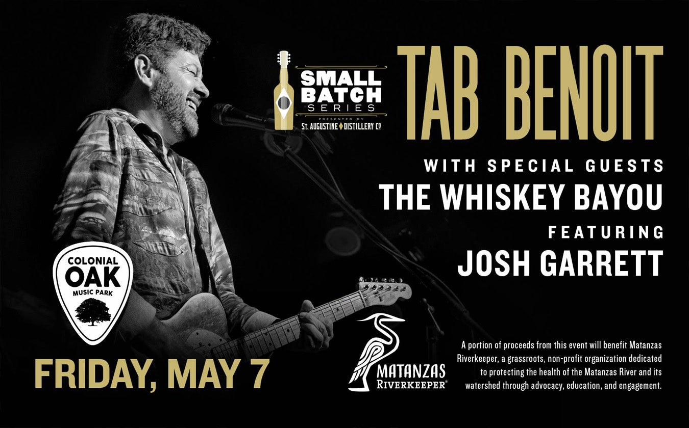 Tab Benoit - SOLD OUT!